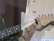 Still clip taken from Lesson 2 of the Absolutely Understand Guitar Video Lesson series.